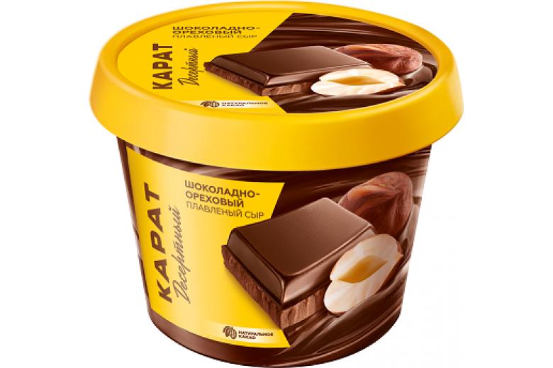 """Сыр плавленый """"Шоколадно-ореховый"""" 230г"""