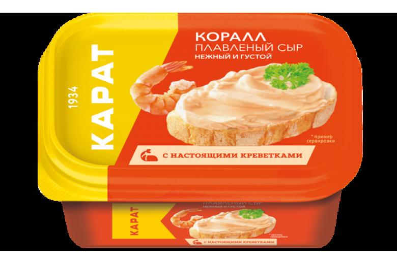 """Сыр плавленый """"Коралл"""" 400г"""