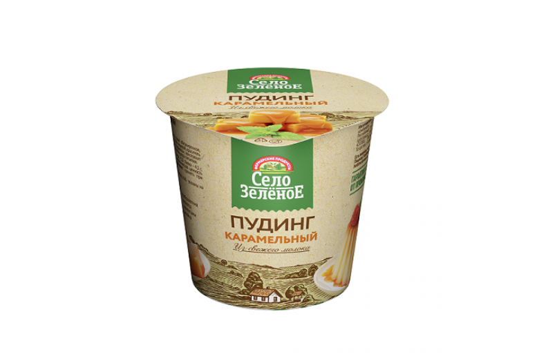 "Пудинг ""Село зеленое"" карамель 120г"