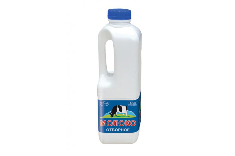 """Молоко """"Экомилк"""" отборное 3,4%-4,5% 900 мл канистра"""