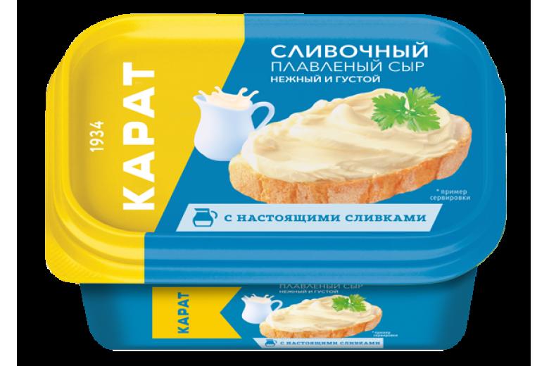 """Сыр плавленый """"Сливочный"""" 400г"""
