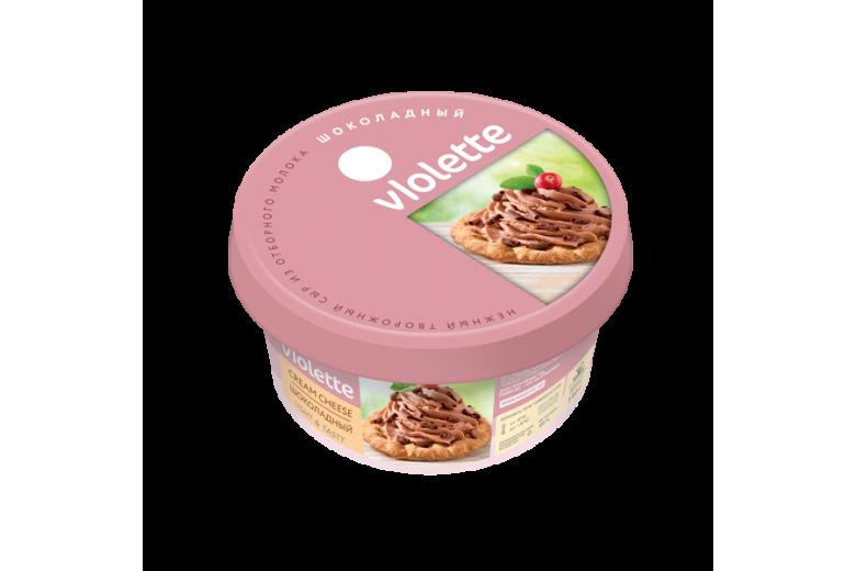 """Творожный сыр """"Виолетта"""" шоколадный 140г"""