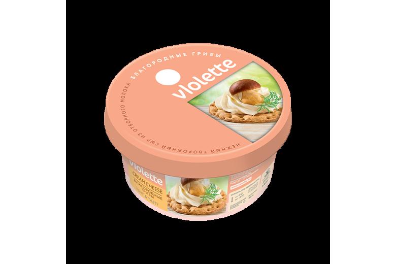 """Творожный сыр """"Виолетта"""" грибы 140г"""