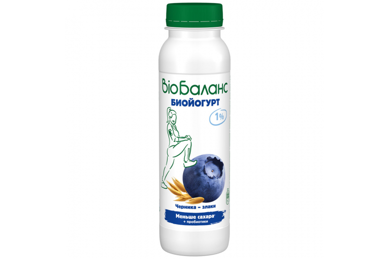"Йогурт ""Bio-баланс"" черника-злаки 270г"