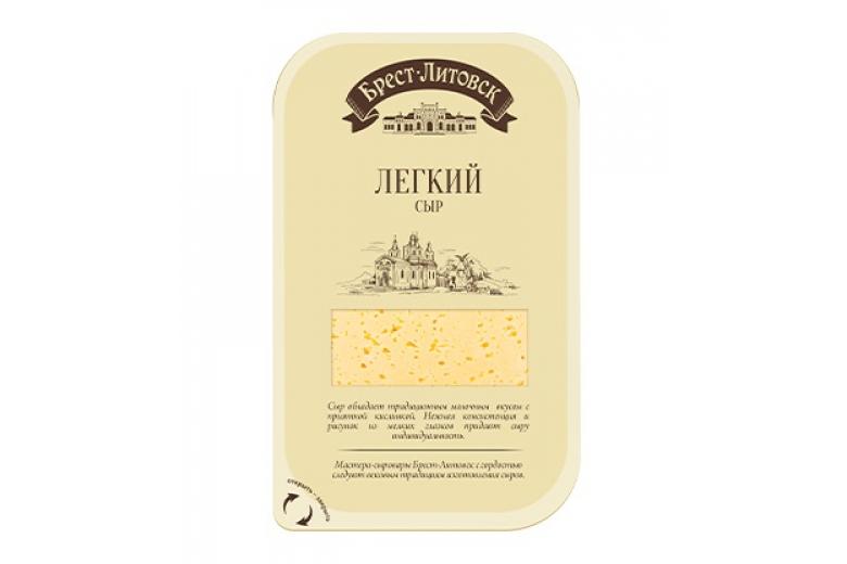 """Сыр """"Брест-Литовск"""" легкий нарезка 150г"""