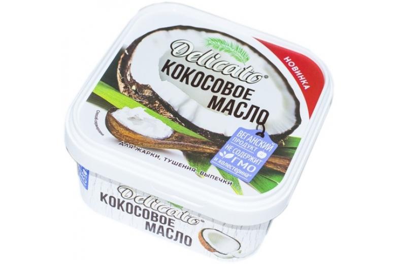 Масло кокосовое Delicato 450г