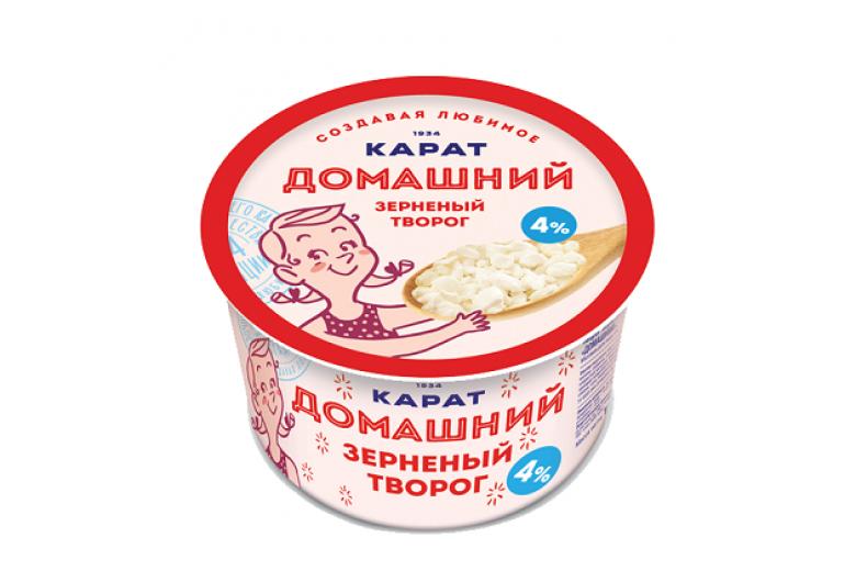 """Творог зерненый """"Домашний"""" 200г"""