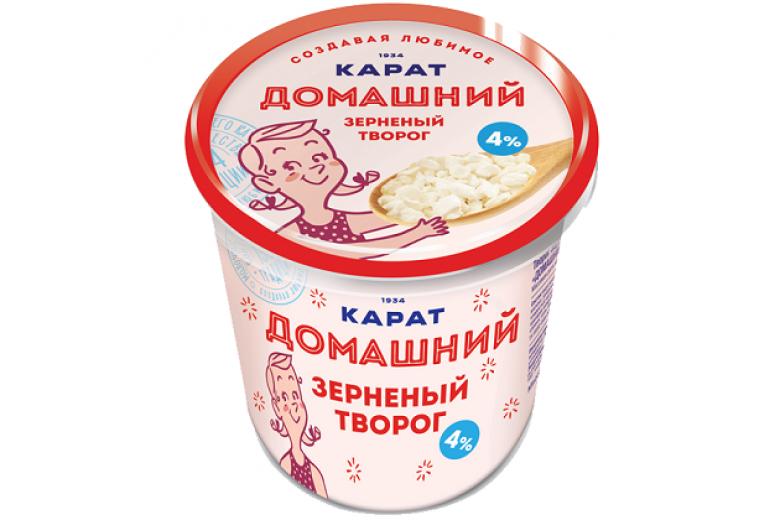 """Творог зерненый """"Домашний"""" 350г"""