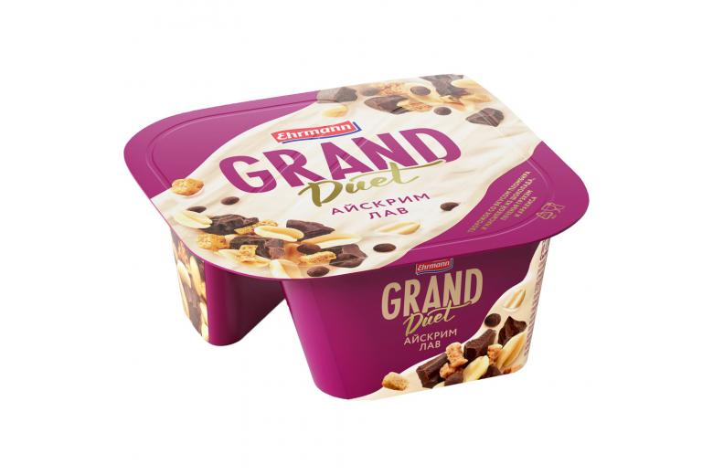 Десерт Grand Duet айскрим лав 138г