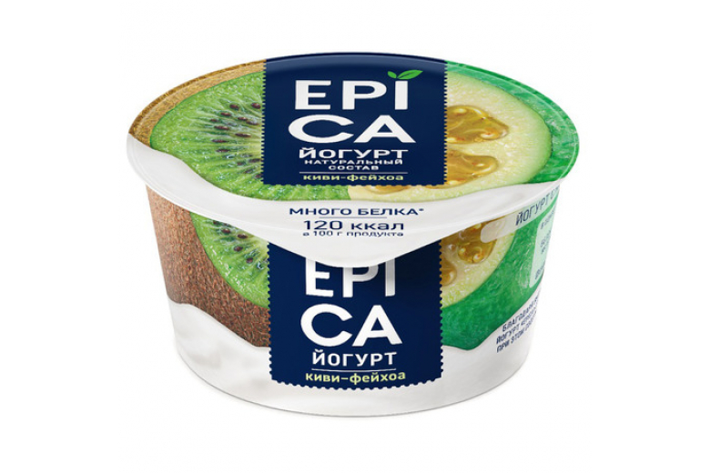 Йогурт Epica киви-фейхоа 130г