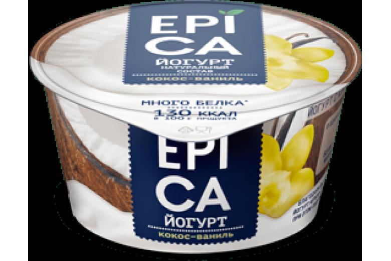 Йогурт Epica кокос-ваниль 130г