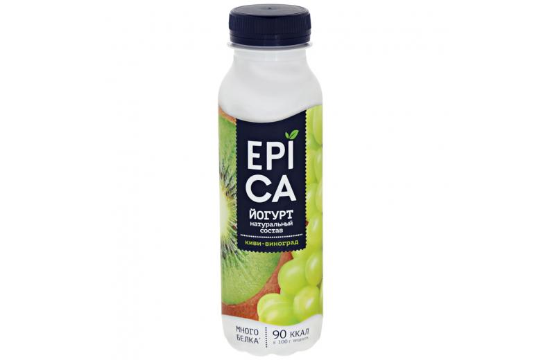Йогурт Epica киви-виноград 290г