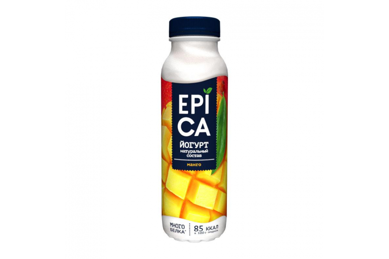Йогурт Epica манго 290г