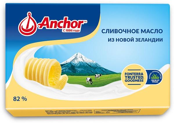 Сливочное масло Anchor 82% 180г