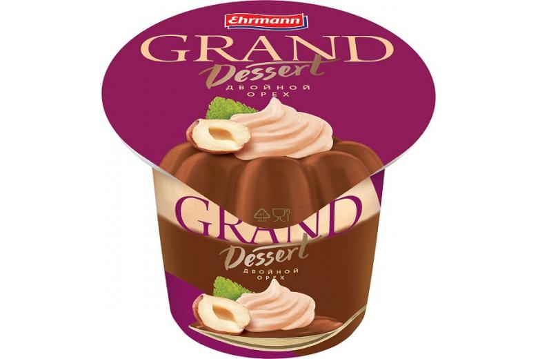 """Пудинг """"Гранд десерт"""" двойной орех 200г"""