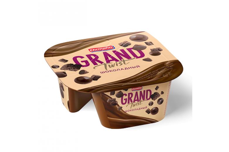 Десерт Grand Twist темный шоколад 138г