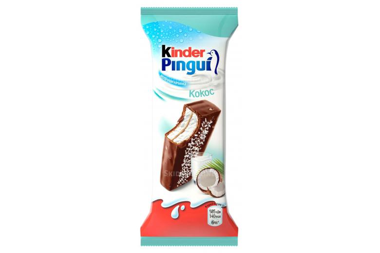Киндер пингви кокос 30г