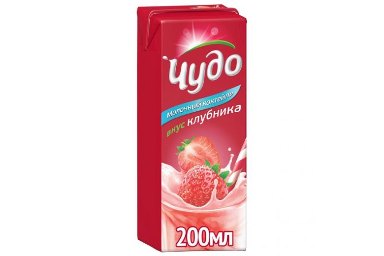 """КОКТЕЙЛЬ """"ЧУДО"""" КЛУБНИКА 200Г"""
