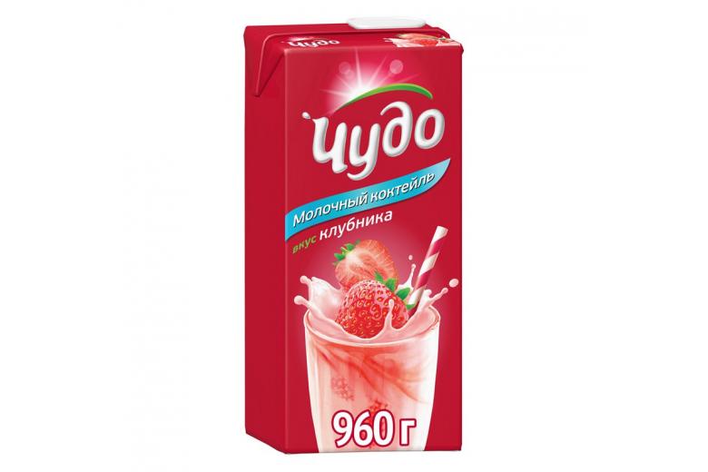 """КОКТЕЙЛЬ """"ЧУДО"""" КЛУБНИКА 960Г"""