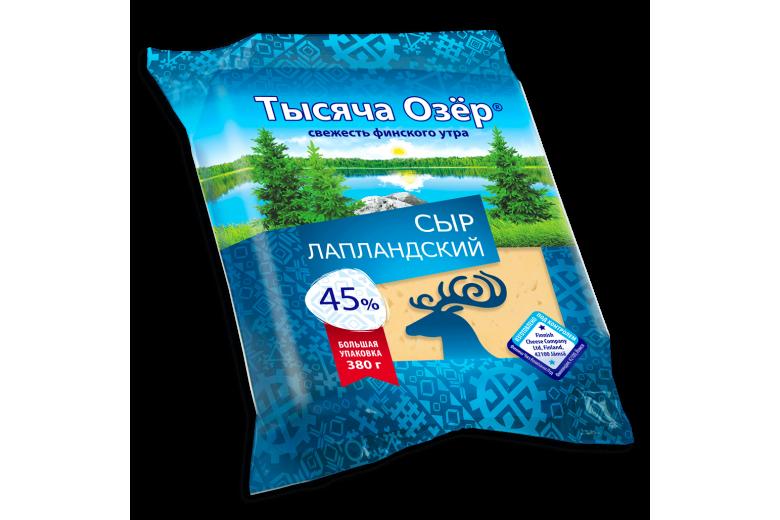 """Сыр """"Тысяча озер"""" лапландский 380г"""