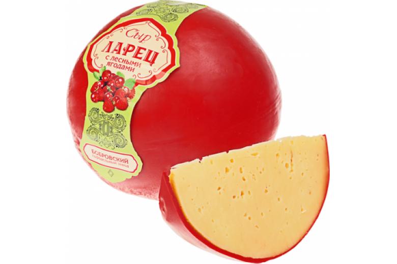 """Сыр """"Ларец с лесными ягодами"""" 1 кг"""