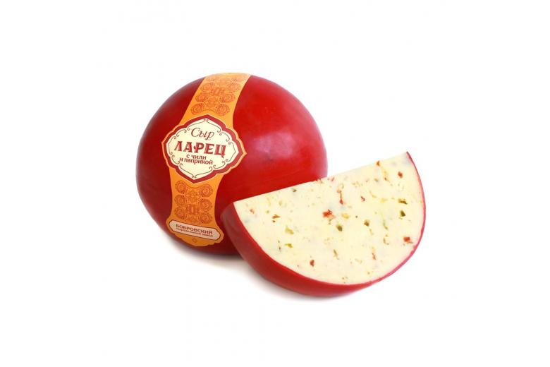 """Сыр """"Ларец с паприкой и чили"""" 1 кг"""