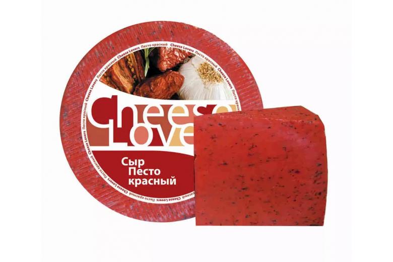 """Сыр """"Cheese Lovers Песто красный"""" 3.5 кг"""