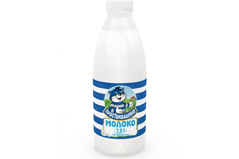 """Молоко """"Простоквашино"""" 1.5% 930г"""