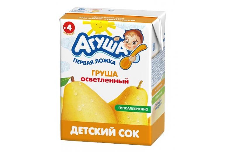 "Сок ""Агуша"" груша 200г"