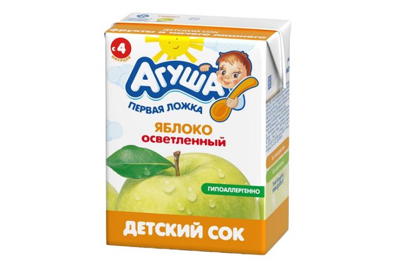 """Сок """"Агуша"""" яблоко 200г"""
