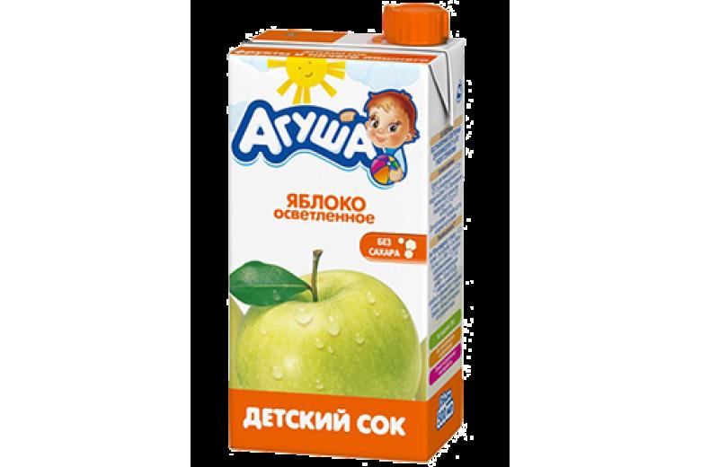 """Сок """"Агуша"""" яблоко 500г"""