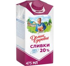 """СЛИВКИ """"ДОМИК В ДЕРЕВНЕ"""" 20% 480Г"""