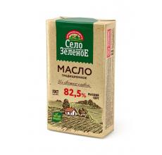 """Сливочное масло """"Село зеленое"""" 82.5% 175г"""