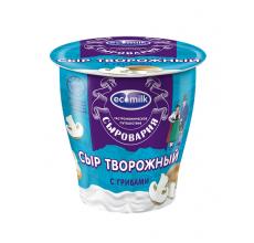"""Сыр творожный с грибами """"Экомилк"""" 150г"""