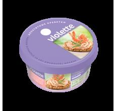 """Творожный сыр """"Виолетта"""" креветки 140г"""