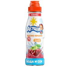 "Вода с соком ""Агуша"" яблоко-вишня 300мл"