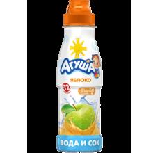 """Вода с соком """"Агуша"""" яблоко 300мл"""
