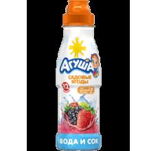 """Вода с соком """"Агуша"""" ягоды 300мл"""