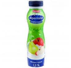 Йогурт Alpenland 290г яблоко-груша
