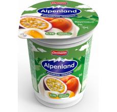 Йогурт Alpenland 0.3% 320 г персик-маракуйя