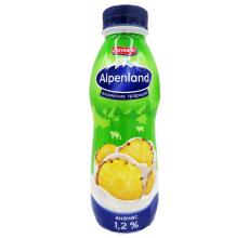 Йогурт Alpenland 420г ананас