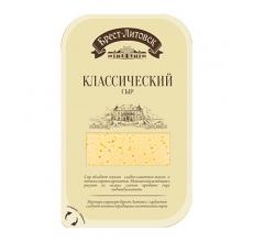 """Сыр """"Брест-Литовск"""" классический нарезка 150г"""