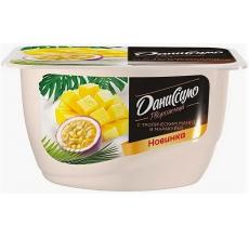 "Творожное ""Даниссимо"" манго-маракуйя 130г"