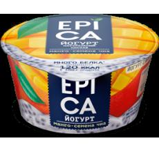 Йогурт Epica манго-семена чиа 130г