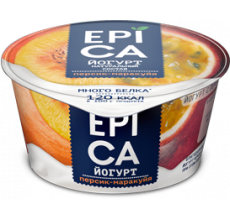 Йогурт Epica персик-маракуйя 130г