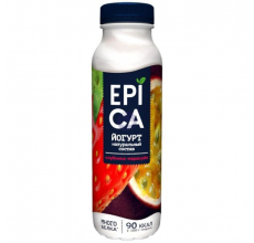 Йогурт Epica клубника-маракуйя 290г