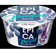 Йогурт Epica Bouquet голубика-лаванда 130г