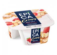 Йогурт Epica Crispy клубника-кокос 138г