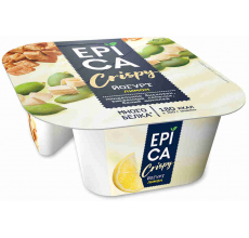 Йогурт Epica Crispy лимон-семена-шоколад 138г