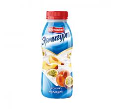 """Йогурт """"Эрмигурт"""" персик-маракуйя 420г"""